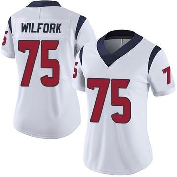 Women's Nike Houston Texans Vince Wilfork White Vapor Untouchable Jersey - Limited