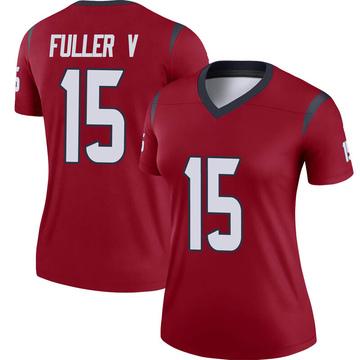 Women's Nike Houston Texans Will Fuller V Red Jersey - Legend