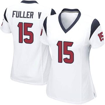 Women's Nike Houston Texans Will Fuller V White Jersey - Game