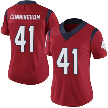 Women's Nike Houston Texans Zach Cunningham Red Alternate Vapor Untouchable Jersey - Limited