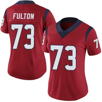 Women's Nike Houston Texans Zach Fulton Red Alternate Vapor Untouchable Jersey - Limited