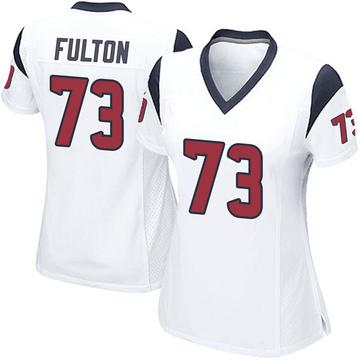 Women's Nike Houston Texans Zach Fulton White Jersey - Game