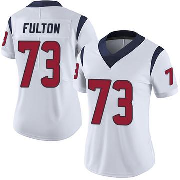 Women's Nike Houston Texans Zach Fulton White Vapor Untouchable Jersey - Limited