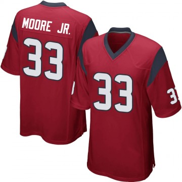 Youth Nike Houston Texans A.J. Moore Red Alternate Jersey - Game
