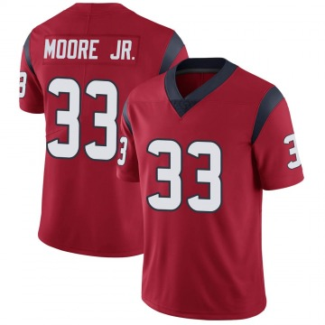 Youth Nike Houston Texans A.J. Moore Red Alternate Vapor Untouchable Jersey - Limited