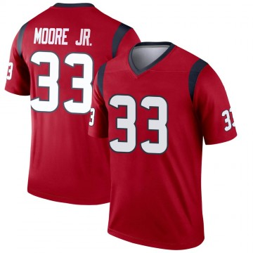 Youth Nike Houston Texans A.J. Moore Red Jersey - Legend