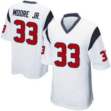 Youth Nike Houston Texans A.J. Moore White Jersey - Game