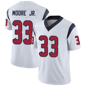 Youth Nike Houston Texans A.J. Moore White Vapor Untouchable Jersey - Limited