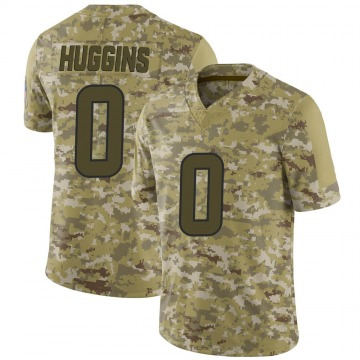 Youth Nike Houston Texans Albert Huggins Camo 2018 Salute to Service Jersey - Limited