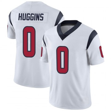 Youth Nike Houston Texans Albert Huggins White Vapor Untouchable Jersey - Limited