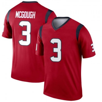 Youth Nike Houston Texans Alex McGough Red Jersey - Legend