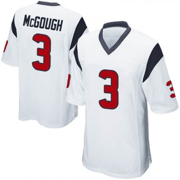 Youth Nike Houston Texans Alex McGough White Jersey - Game