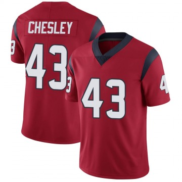 Youth Nike Houston Texans Anthony Chesley Red Alternate Vapor Untouchable Jersey - Limited