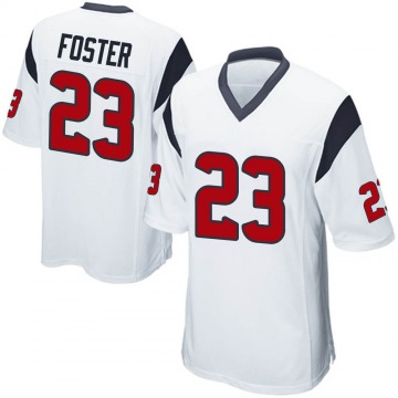 Youth Nike Houston Texans Arian Foster White Jersey - Game
