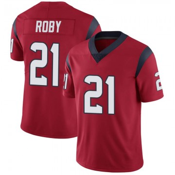 Youth Nike Houston Texans Bradley Roby Red Alternate Vapor Untouchable Jersey - Limited