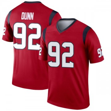 Youth Nike Houston Texans Brandon Dunn Red Jersey - Legend