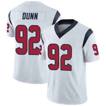 Youth Nike Houston Texans Brandon Dunn White Vapor Untouchable Jersey - Limited