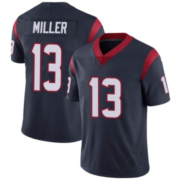 Youth Nike Houston Texans Braxton Miller Navy Blue Team Color Vapor Untouchable Jersey - Limited