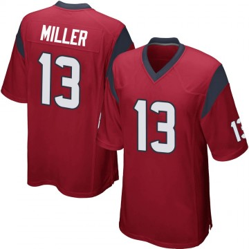 Youth Nike Houston Texans Braxton Miller Red Alternate Jersey - Game