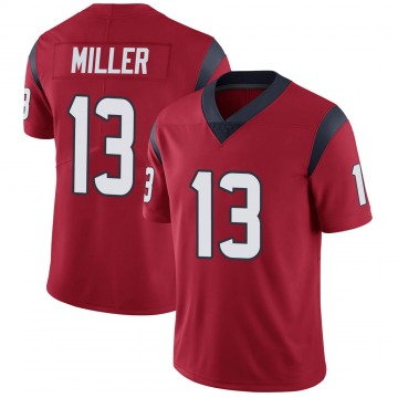 Youth Nike Houston Texans Braxton Miller Red Alternate Vapor Untouchable Jersey - Limited