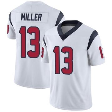 Youth Nike Houston Texans Braxton Miller White Vapor Untouchable Jersey - Limited