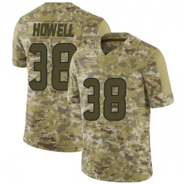 Youth Nike Houston Texans Buddy Howell Camo 2018 Salute to Service Jersey - Limited
