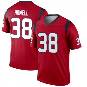 Youth Nike Houston Texans Buddy Howell Red Jersey - Legend