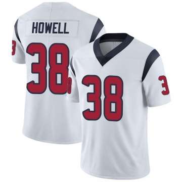 Youth Nike Houston Texans Buddy Howell White Vapor Untouchable Jersey - Limited