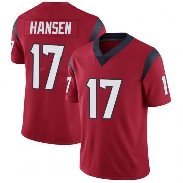 Youth Nike Houston Texans Chad Hansen Red Alternate Vapor Untouchable Jersey - Limited