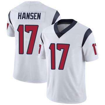 Youth Nike Houston Texans Chad Hansen White Vapor Untouchable Jersey - Limited