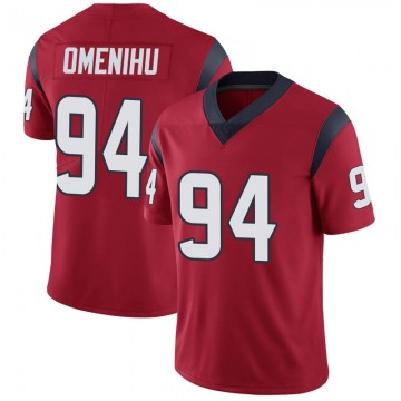 Youth Nike Houston Texans Charles Omenihu Red Alternate Vapor Untouchable Jersey - Limited