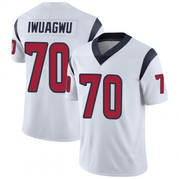Youth Nike Houston Texans Cordel Iwuagwu White Vapor Untouchable Jersey - Limited