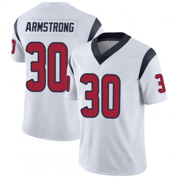 Youth Nike Houston Texans Cornell Armstrong White Vapor Untouchable Jersey - Limited