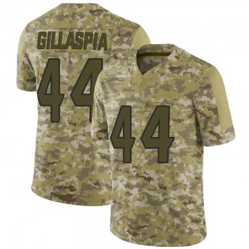 Youth Nike Houston Texans Cullen Gillaspia Camo 2018 Salute to Service Jersey - Limited
