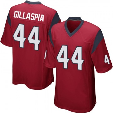 Youth Nike Houston Texans Cullen Gillaspia Red Alternate Jersey - Game
