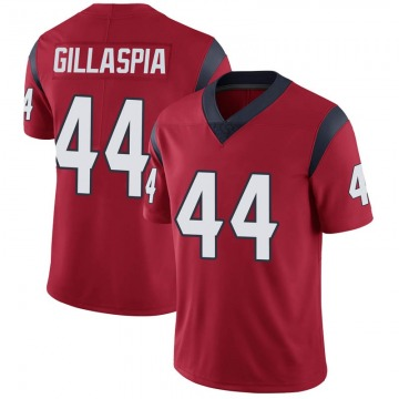 Youth Nike Houston Texans Cullen Gillaspia Red Alternate Vapor Untouchable Jersey - Limited