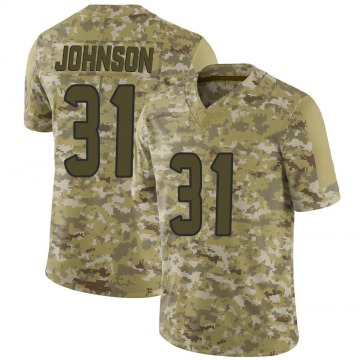 Youth Nike Houston Texans David Johnson Camo 2018 Salute to Service Jersey - Limited