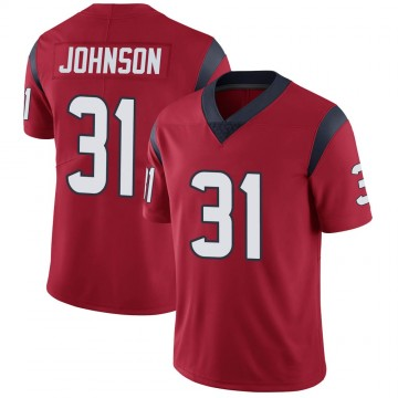 Youth Nike Houston Texans David Johnson Red Alternate Vapor Untouchable Jersey - Limited
