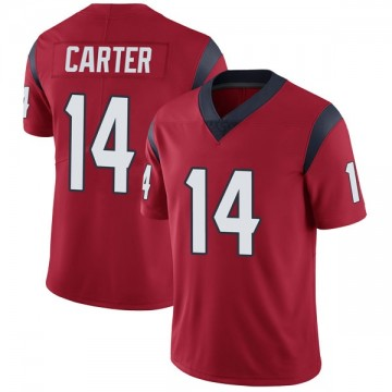 Youth Nike Houston Texans DeAndre Carter Red Alternate Vapor Untouchable Jersey - Limited
