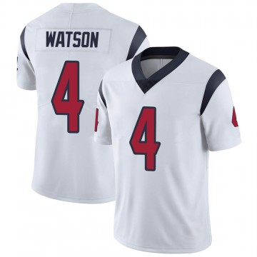 Youth Nike Houston Texans Deshaun Watson White Vapor Untouchable Jersey - Limited