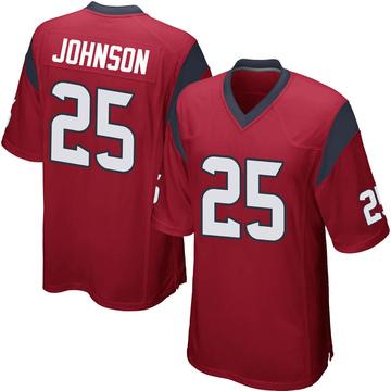 Youth Nike Houston Texans Duke Johnson Jr. Red Alternate Jersey - Game