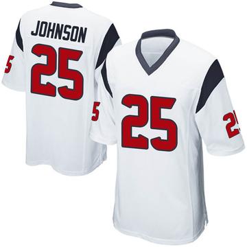 Youth Nike Houston Texans Duke Johnson Jr. White Jersey - Game