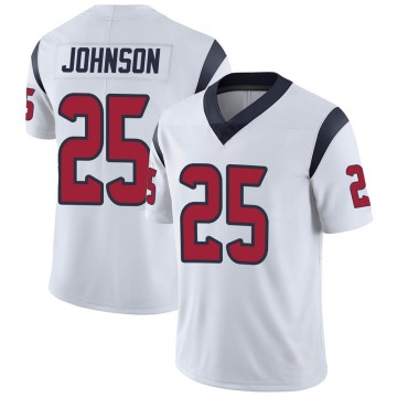 Youth Nike Houston Texans Duke Johnson Jr. White Vapor Untouchable Jersey - Limited