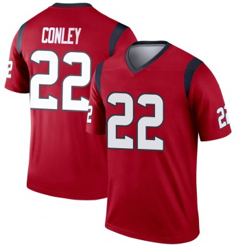 Youth Nike Houston Texans Gareon Conley Red Jersey - Legend