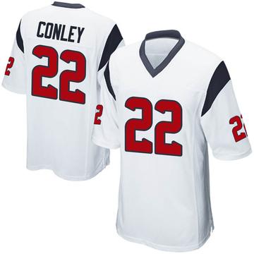 Youth Nike Houston Texans Gareon Conley White Jersey - Game
