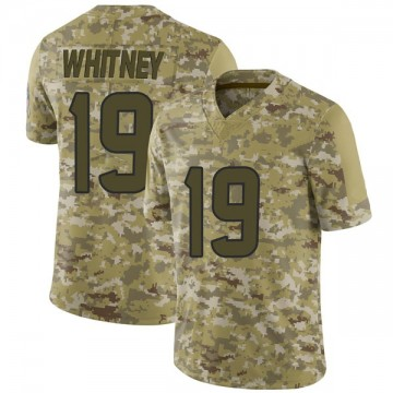 Youth Nike Houston Texans Isaac Whitney Camo 2018 Salute to Service Jersey - Limited