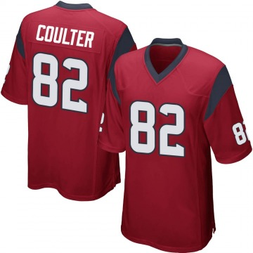 Youth Nike Houston Texans Isaiah Coulter Red Alternate Jersey - Game