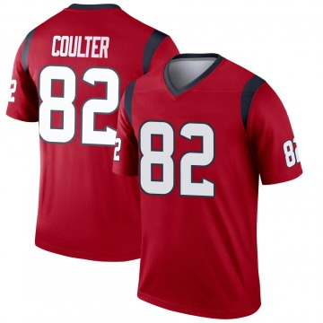 Youth Nike Houston Texans Isaiah Coulter Red Jersey - Legend