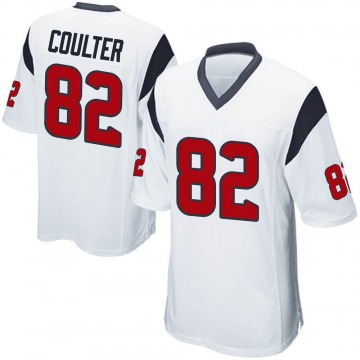 Youth Nike Houston Texans Isaiah Coulter White Jersey - Game