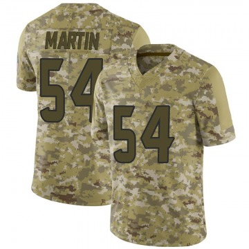 Youth Nike Houston Texans Jacob Martin Camo 2018 Salute to Service Jersey - Limited